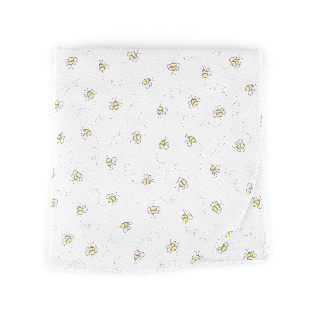 Magnolia Baby Essentials Unisex Busy Bee Swaddle Blanket