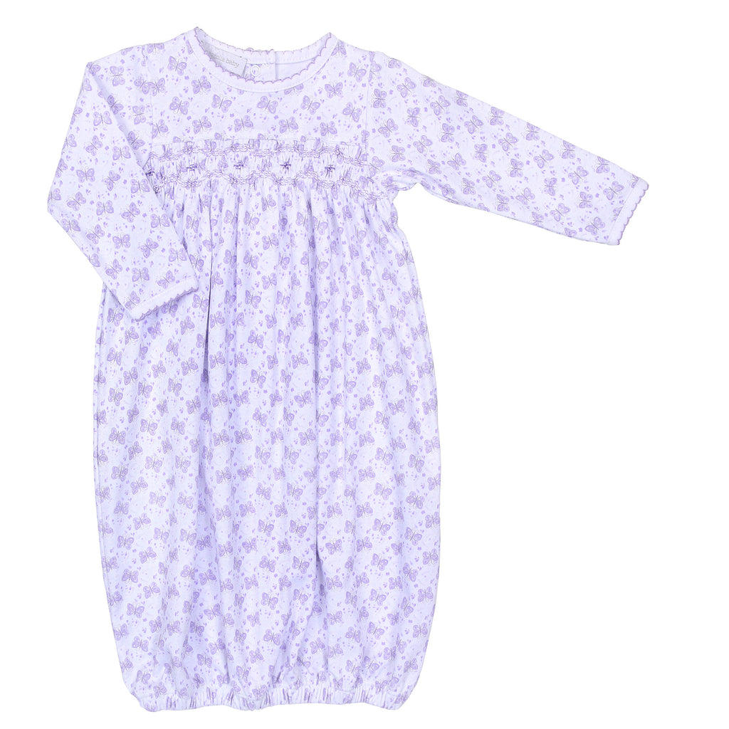 Lilac Hannah's Love Smocked Gown