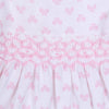 Pink Beautiful Bows Smocked Pant Set