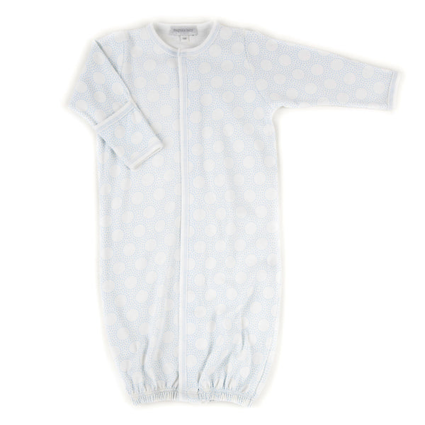 Magnolia Baby Essentials Blue Circles Converter Gown