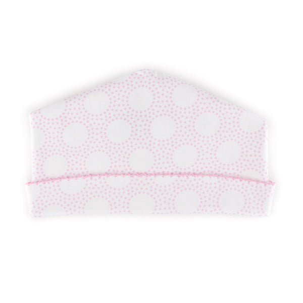 Magnolia Baby Essentials Pink Circles Hat
