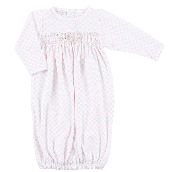Magnolia Baby Essentials Hope's Rose Smocked Gown