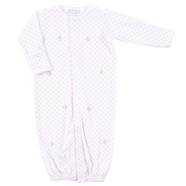 Magnolia Baby Essentials Hope's Rose Embroidered Converter Gown