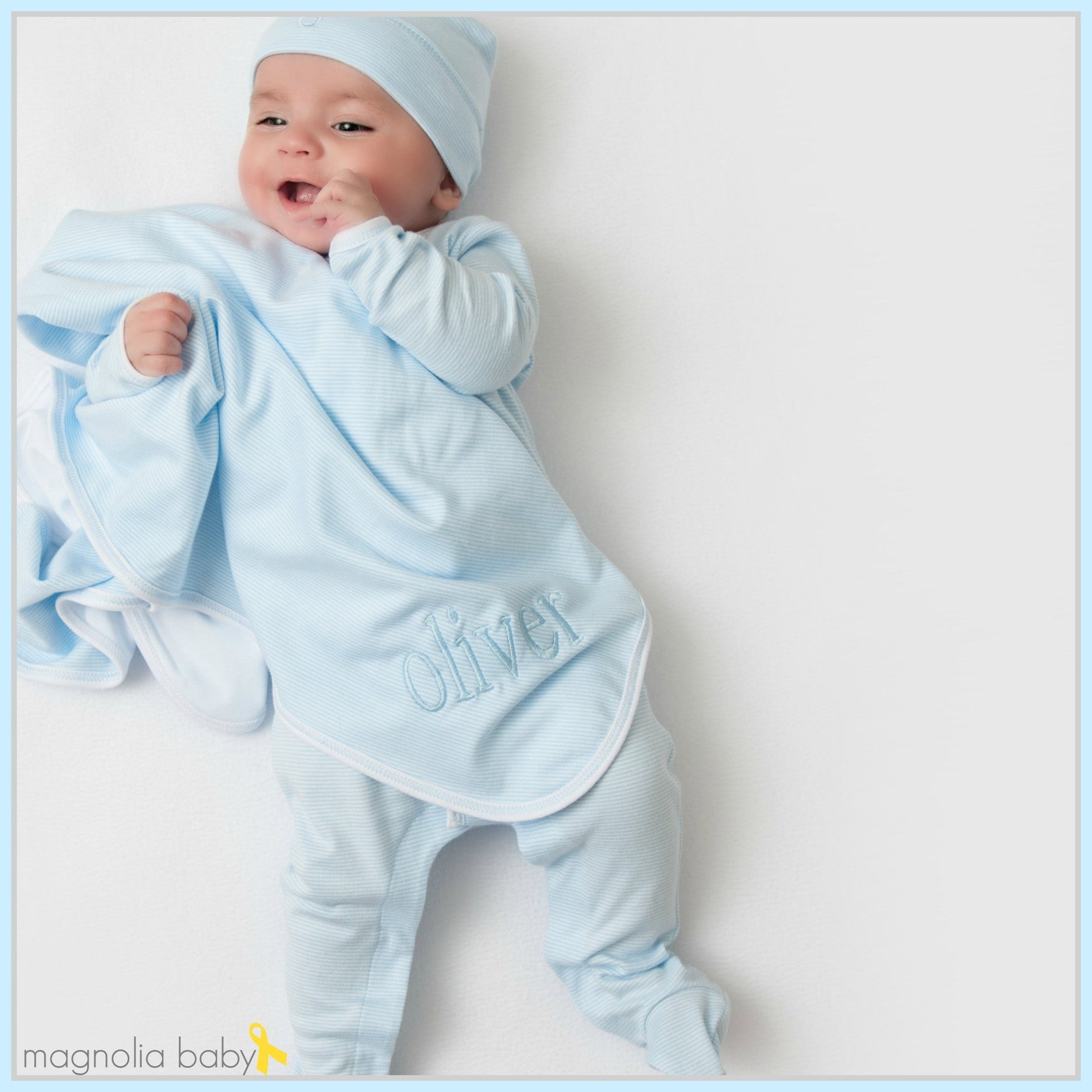 Magnolia Baby Layette Pima Cotton Baby Clothes And Pajamas