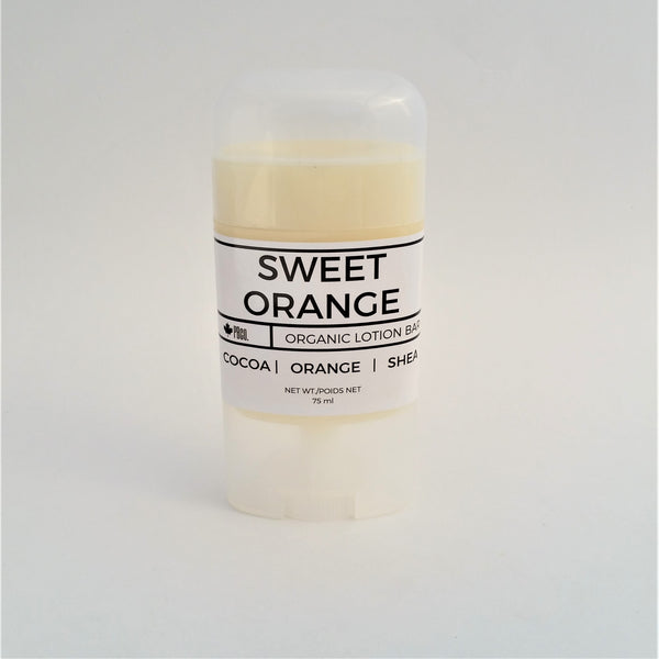 Organic Sweet Orange Lotion Bar