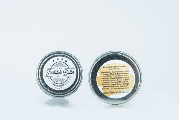 Organic Sweet Orange Lip Butter - Parkdale Butter