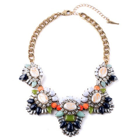 Lillian Crystal Necklace