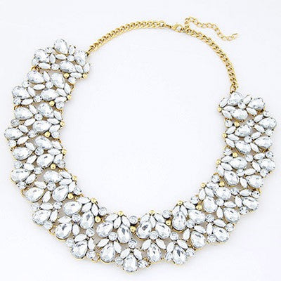 Audrey Crystal Necklace