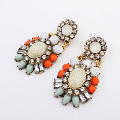 Clementine Gem Earrings