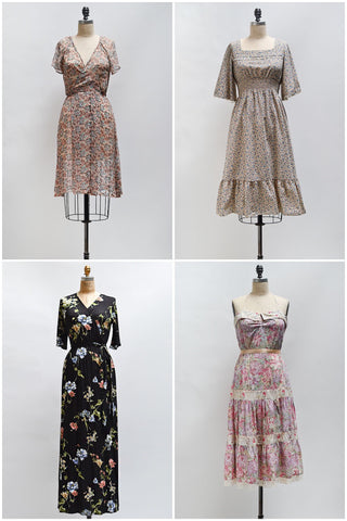 New Arrivals / Floral Dresses for the Hopeless Romantic