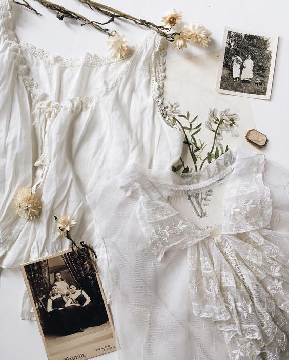 Favorite Things: Antique Victorian & Edwardian Tops
