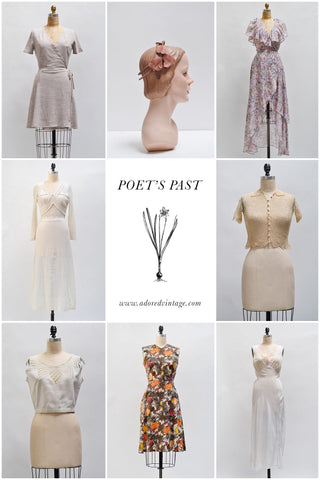 Vintage Shop Update | Poet's Past
