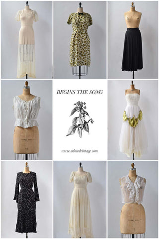 Vintage Shop Update | Beings the Song