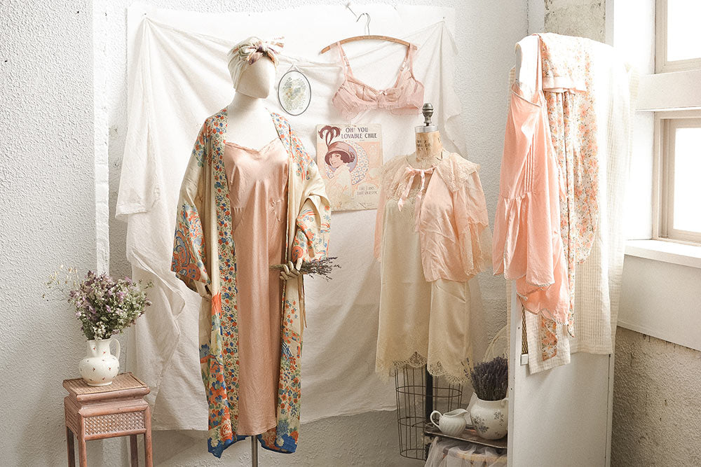 Fashion Glossary: Vintage & Modern Lingerie