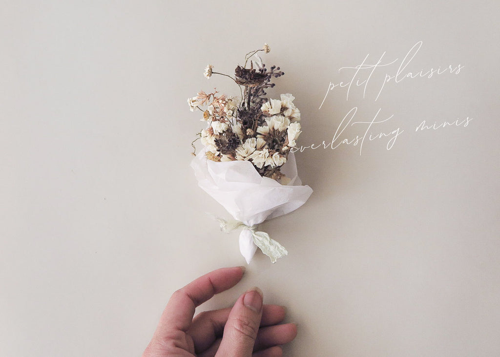 How To Make Mini Dried Flower Bouquets