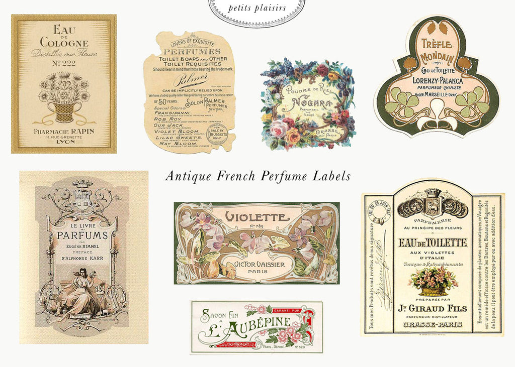 Petits Plaisirs: Vintage French Perfume Labels