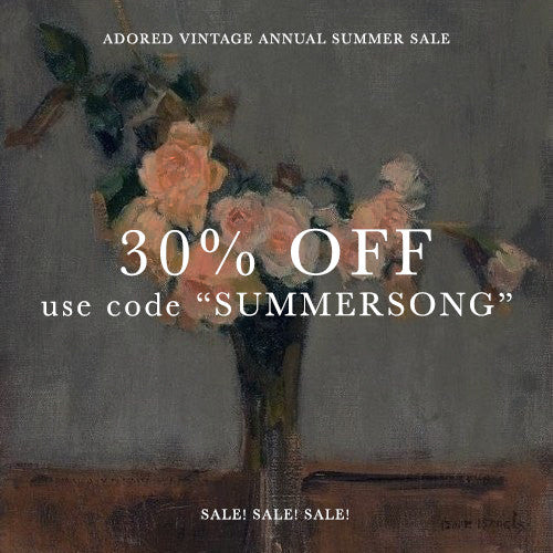 30% OFF ANNUAL SUMMER SALE! 6/10 - 6/13