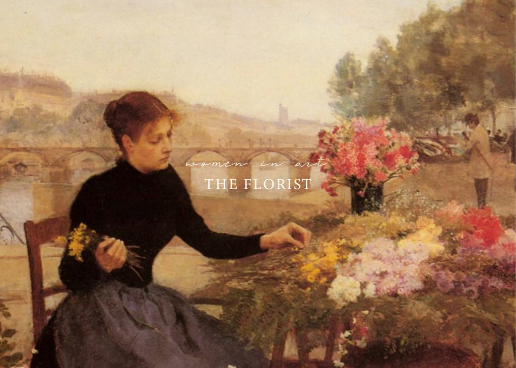 Women In Art / The Florist & A Bit of Floral Language