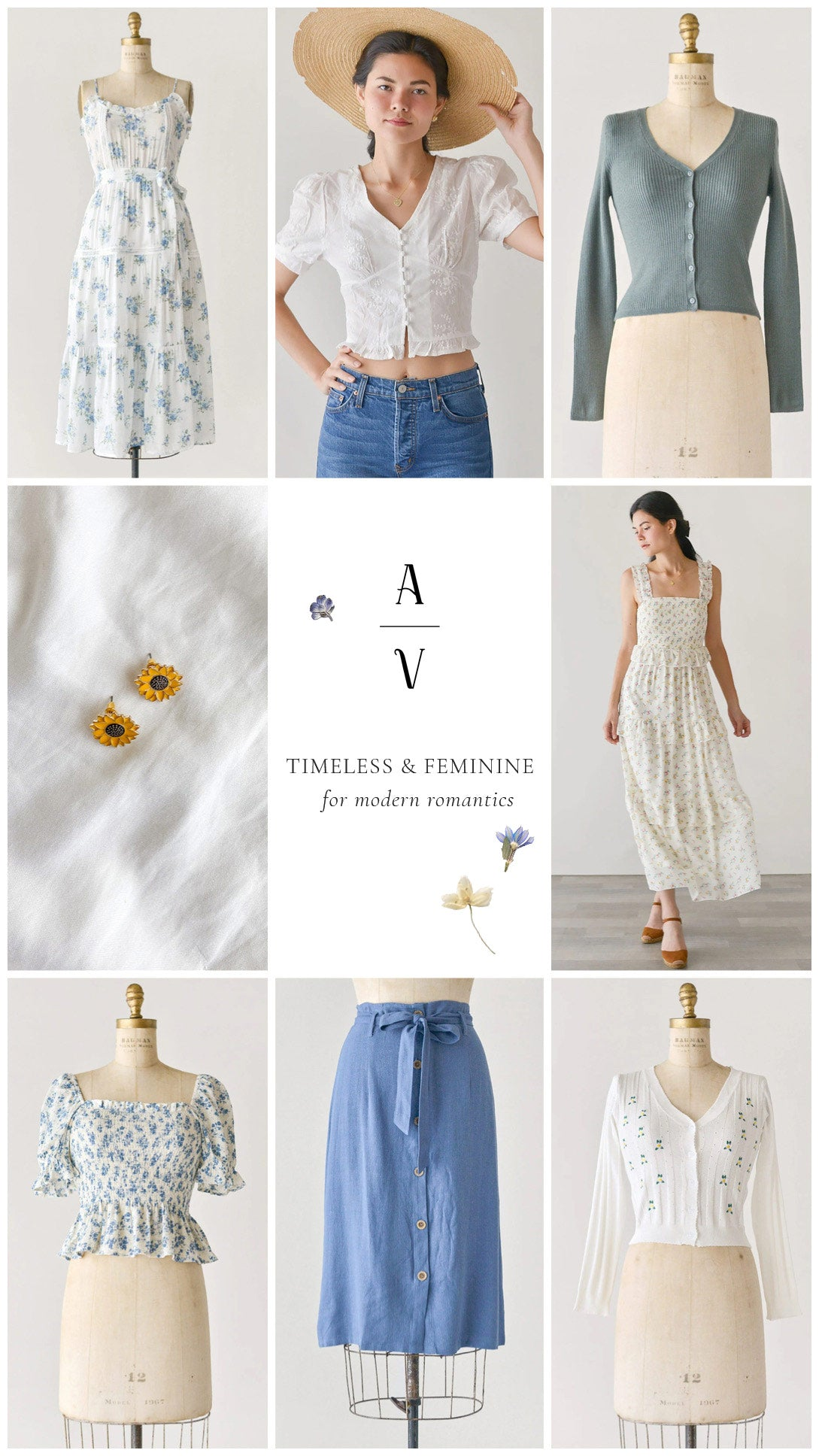 Shop Timeless & Feminine Clothing at Adored Vintage / Online Women's Clothing Boutique
