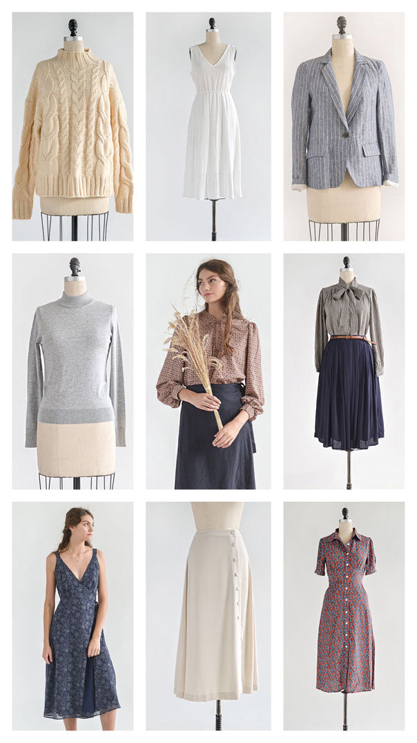 Feminine Vintage Inspired Clothing / Autumn Outfits