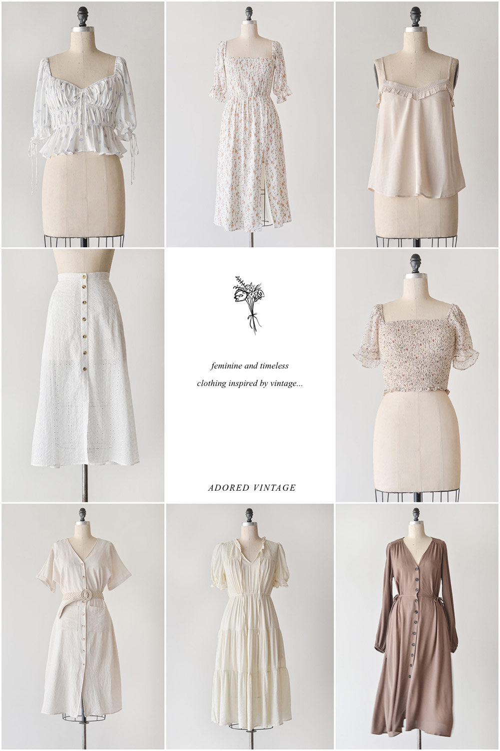 Feminine & Timeless Clothing / New Arrivals Adored Vintage / When Home Calls