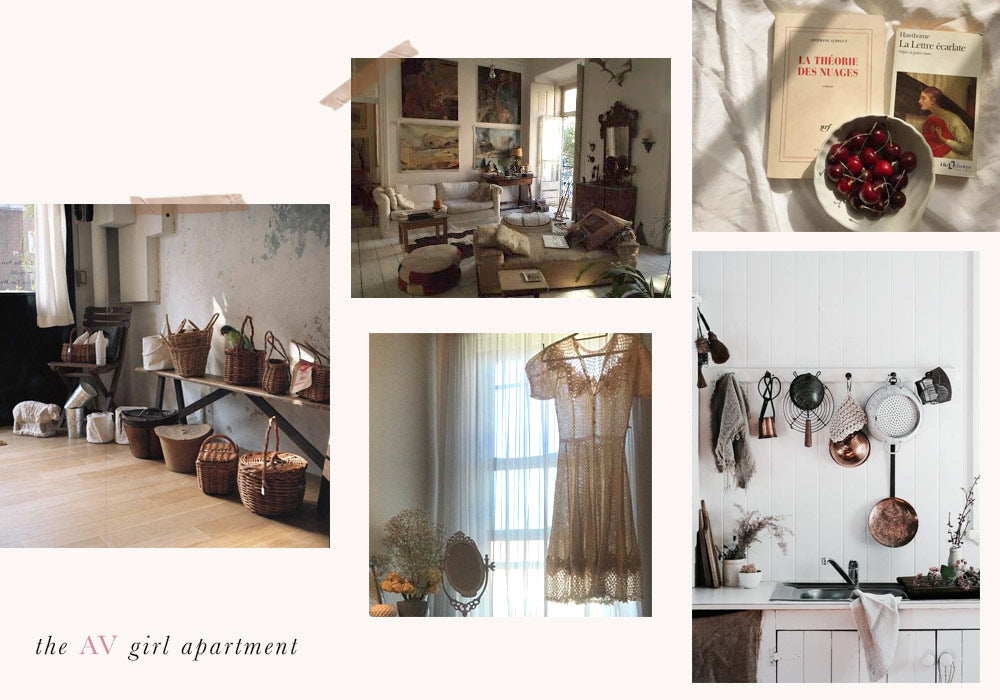 Adored Vintage Girl Apartment Inspiration Concept Shop