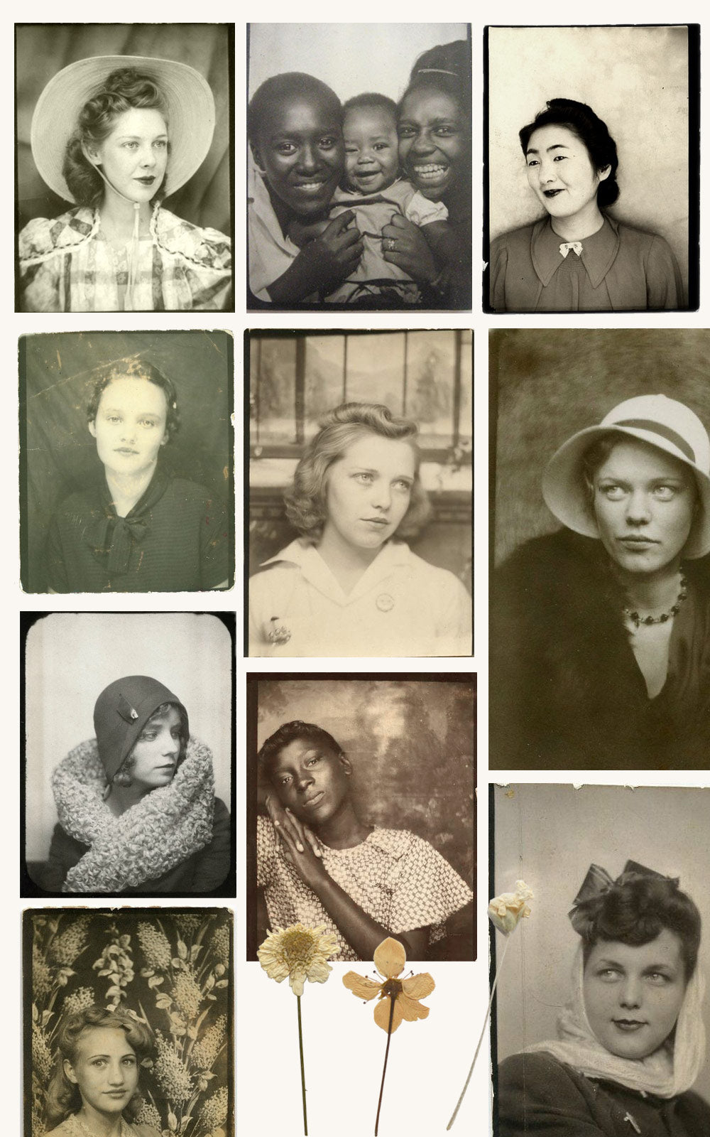 As She Was: Vintage Photobooth Beauties