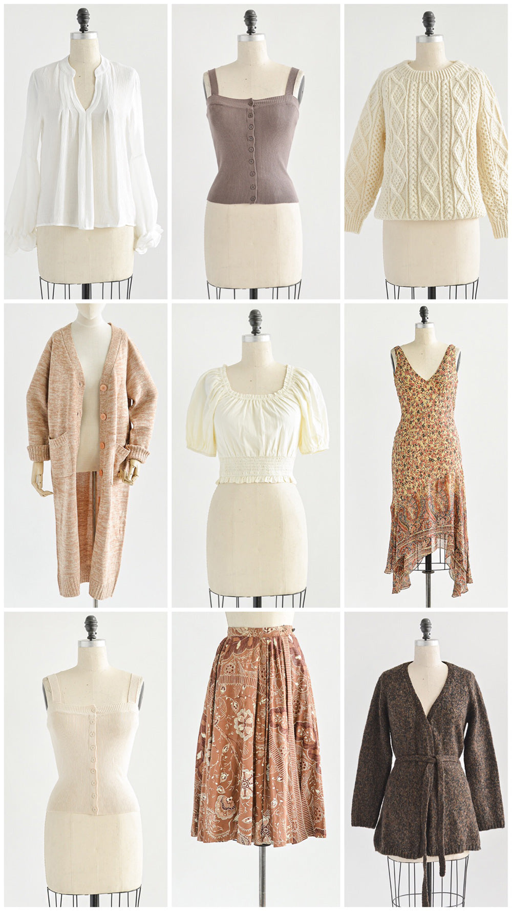 New Arrivals / Summer to Fall Separates, Skirts, Dresses