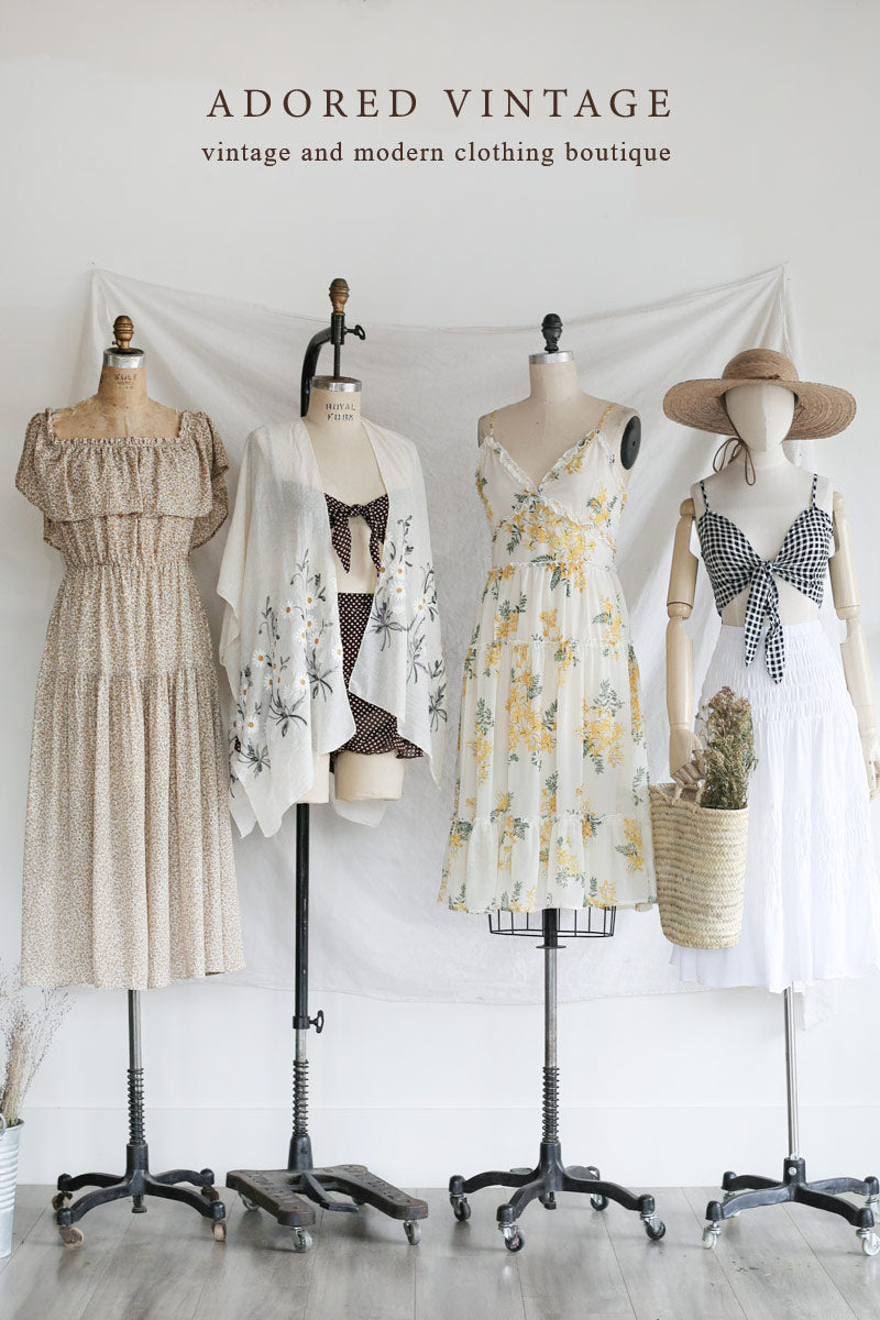 Timeless and Feminine Clothing Online Shop / Adored Vintage