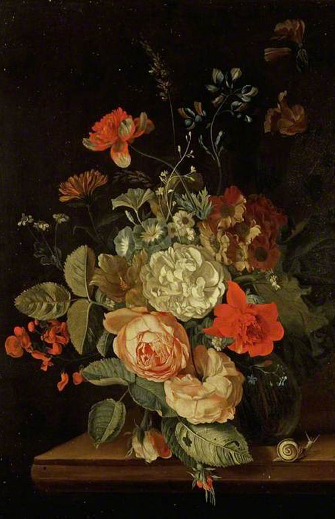 Maria van Oosterwyck / Dutch Golden Era / Inspiration for Floral Centerpieces