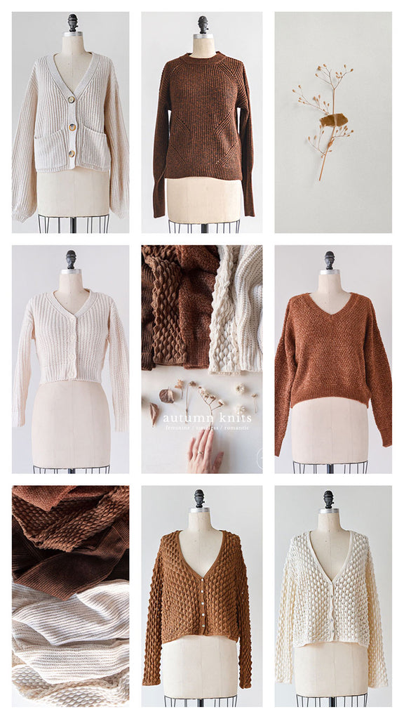 Sweaters & Knitwear for Autumn / Feminine Vintage Inspired Clothing