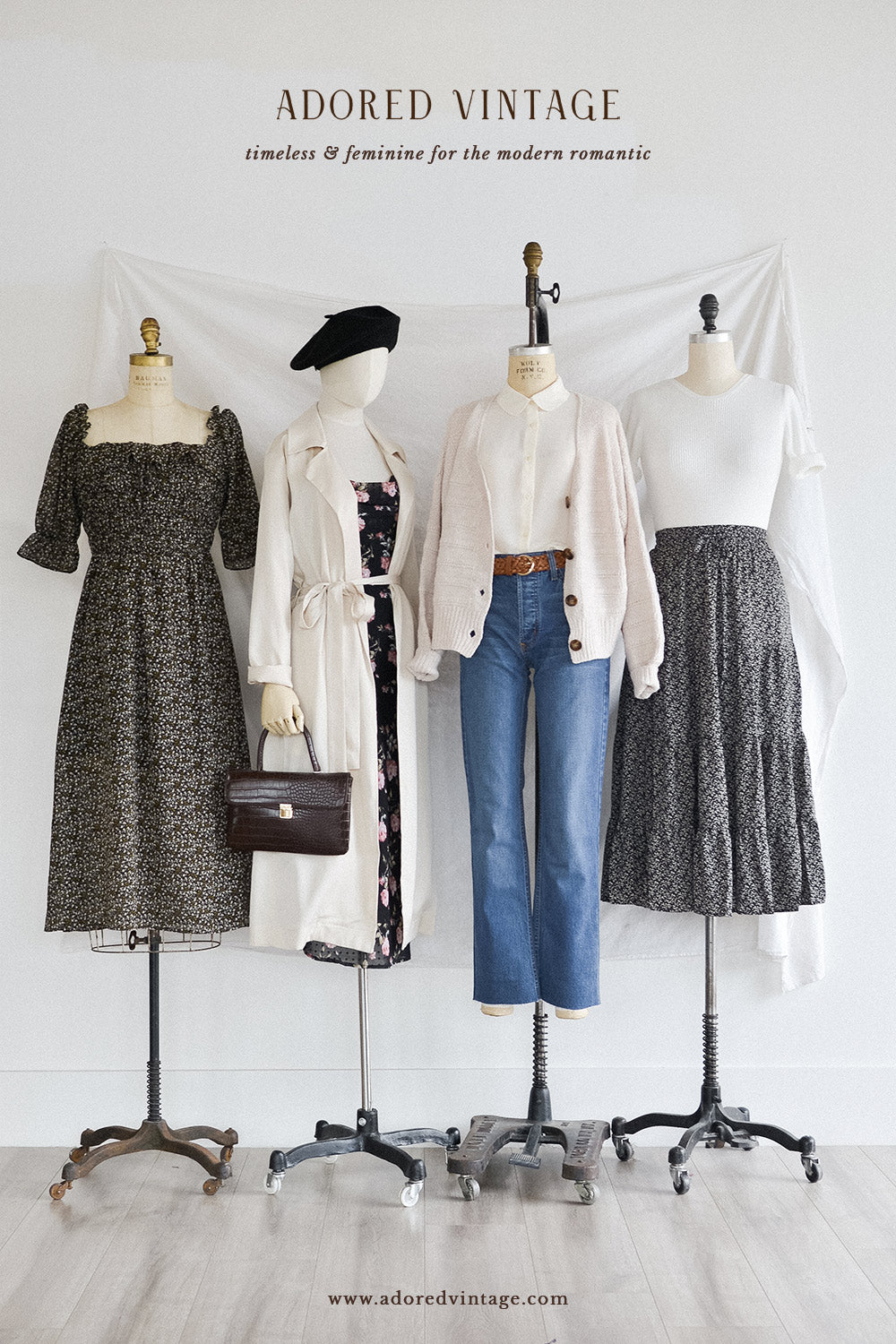 Vintage French Girl Inspired Outfits - Adored Vintage Women's Clothing Store