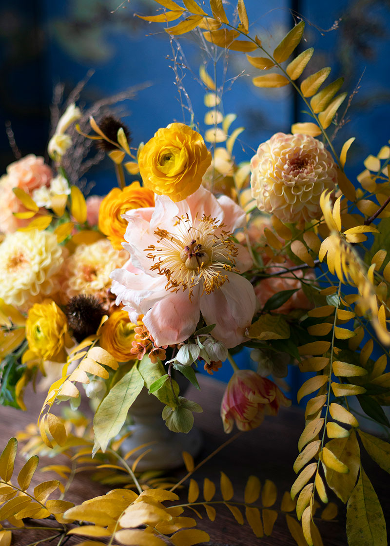 Ephemera / Adored Vintage Floral Inspiration / Centerpieces for Holidays Ideas