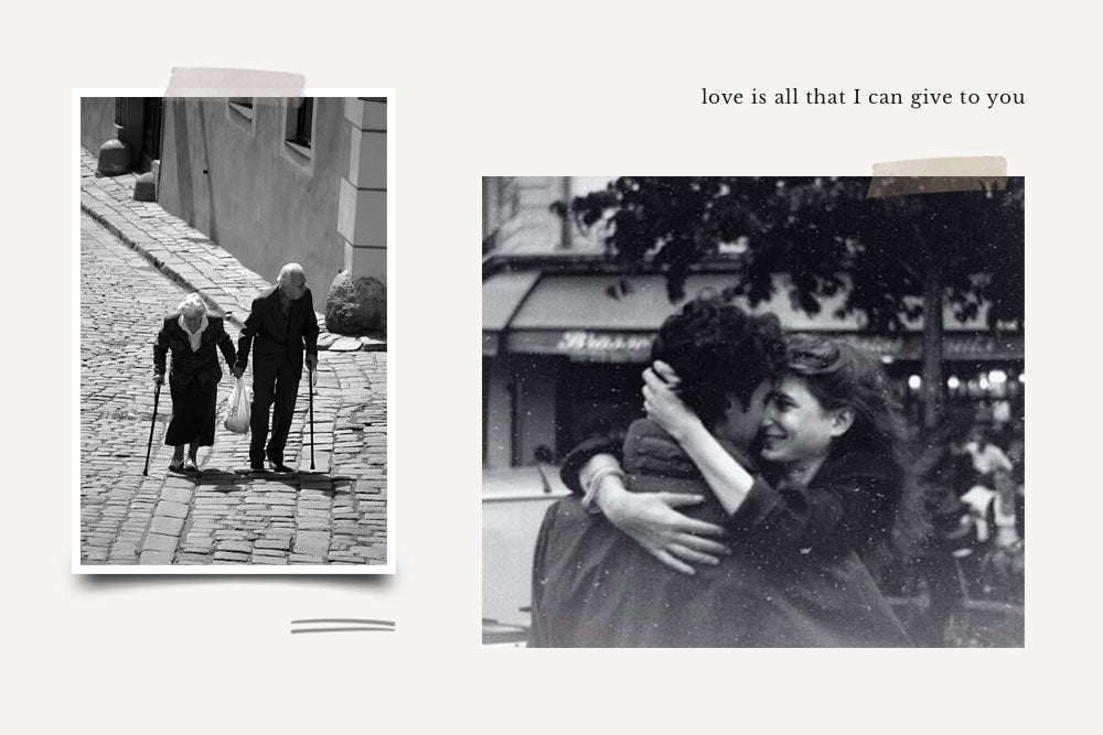 Found Vintage Photos: L'Amour
