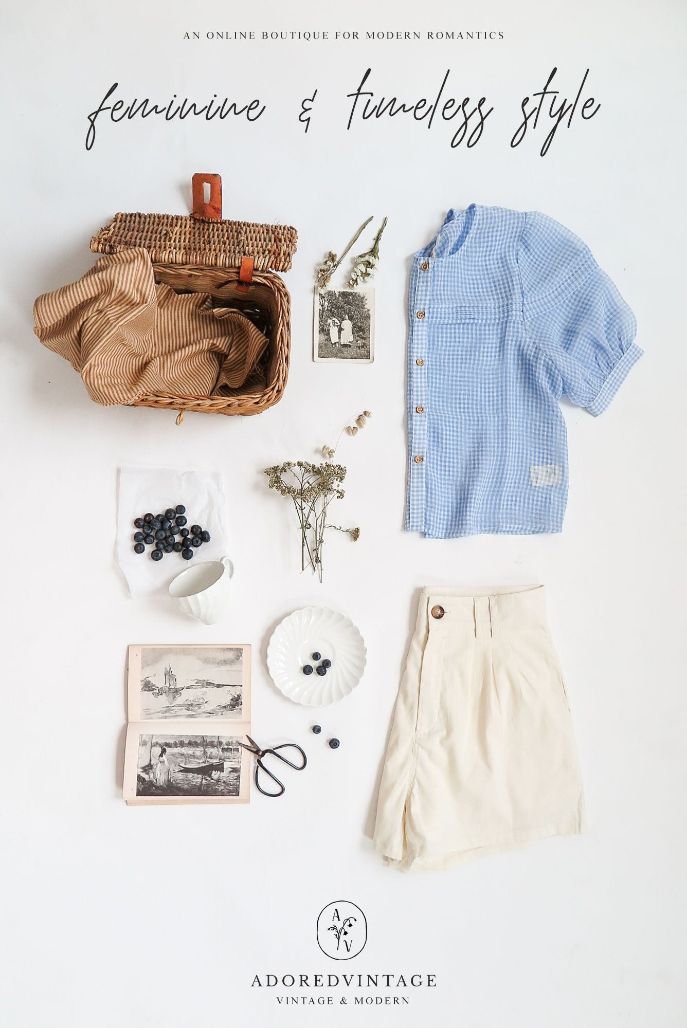 Wardrobe Recipe: 1930s Inspired River Picnic Outfit