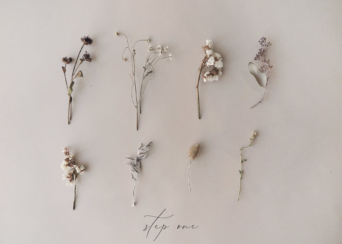 How To Make Mini Dried Flower Bouquets - Adored Vintage - In Pursuit of Simple Beauty