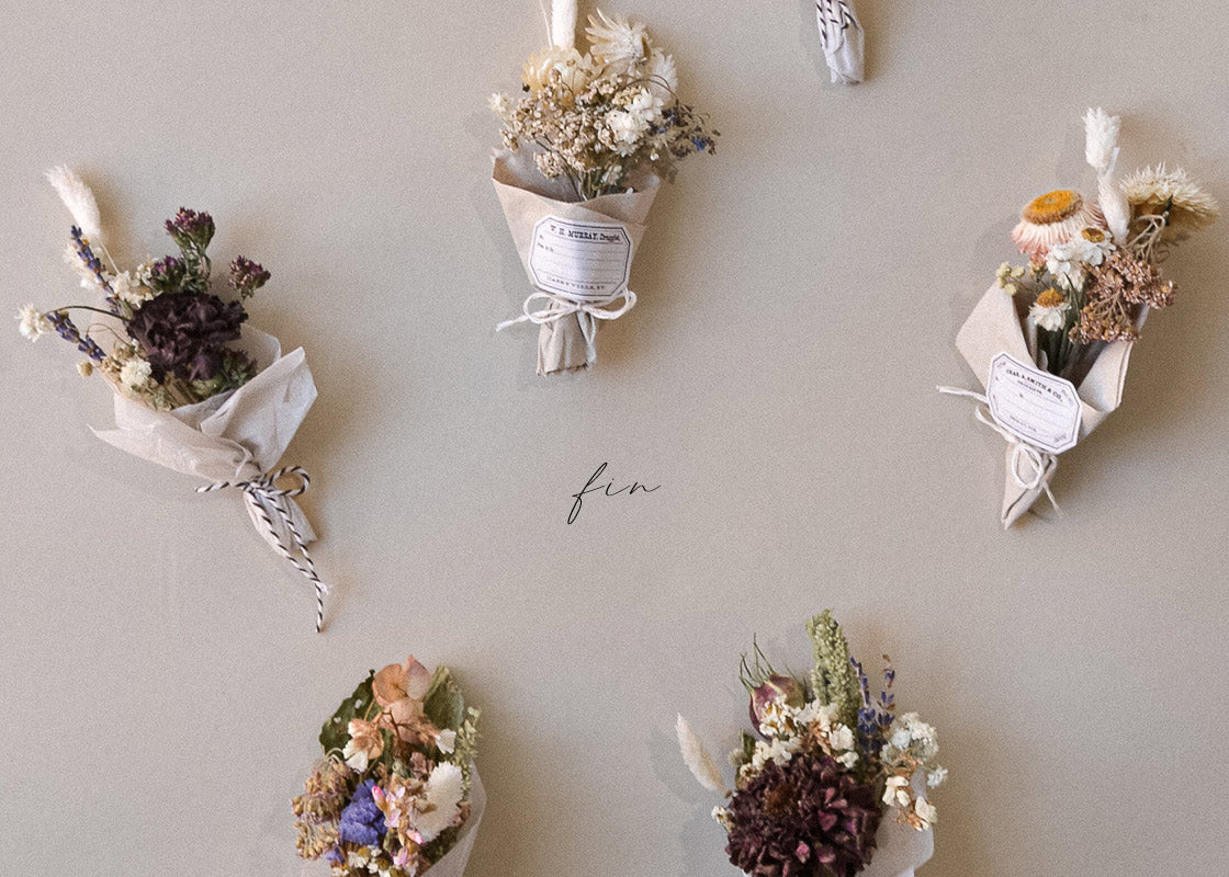 How To Make Mini Dried Flower Bouquets Adored Vintage