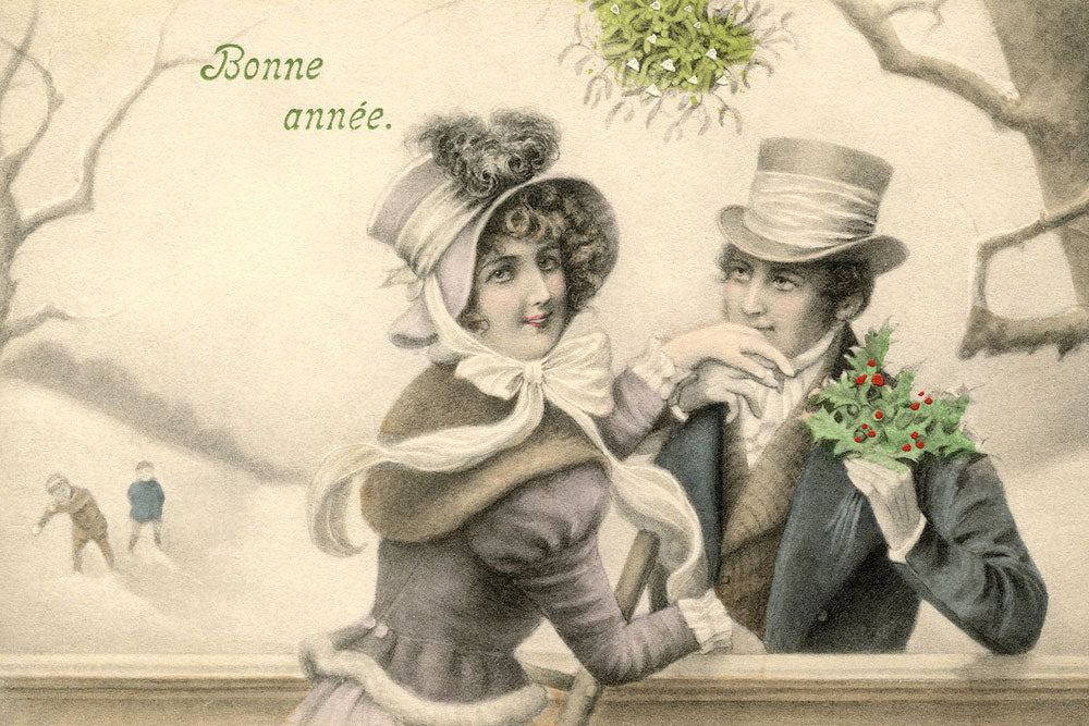 The History of Mistletoe / The Origins of 5 Christmas Traditions
