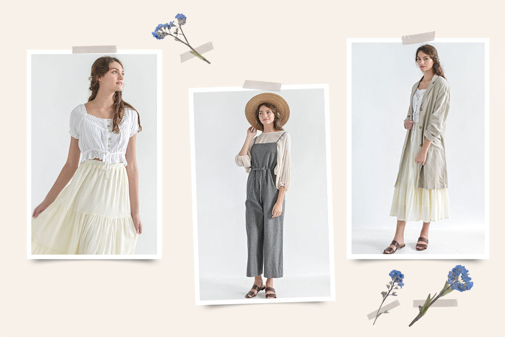 New Arrivals / Timelessly Feminine Vintage Inspired Clothing / Neutrals and Classics Outfits