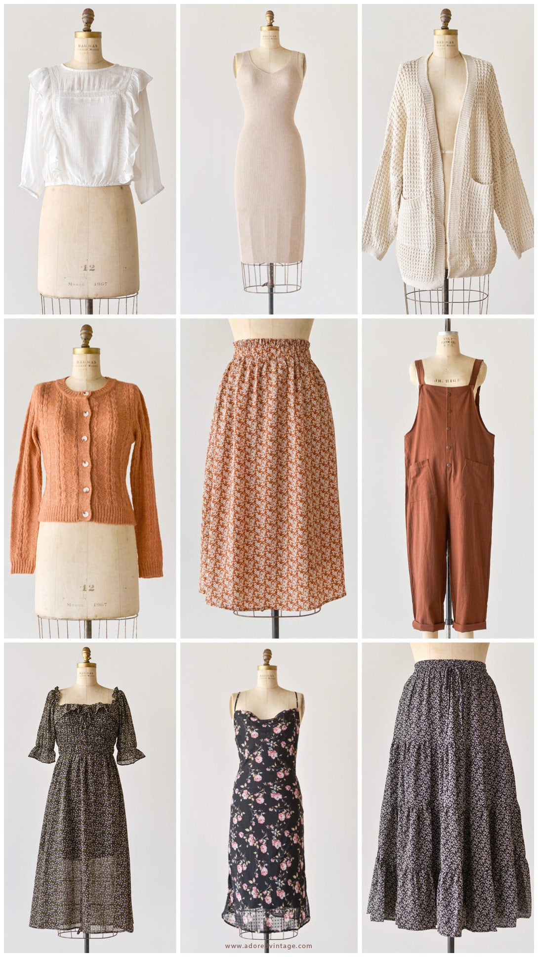 New Arrivals / Adored Vintage / Timeless and Feminine Clothing Boutique Inspired By Vintage