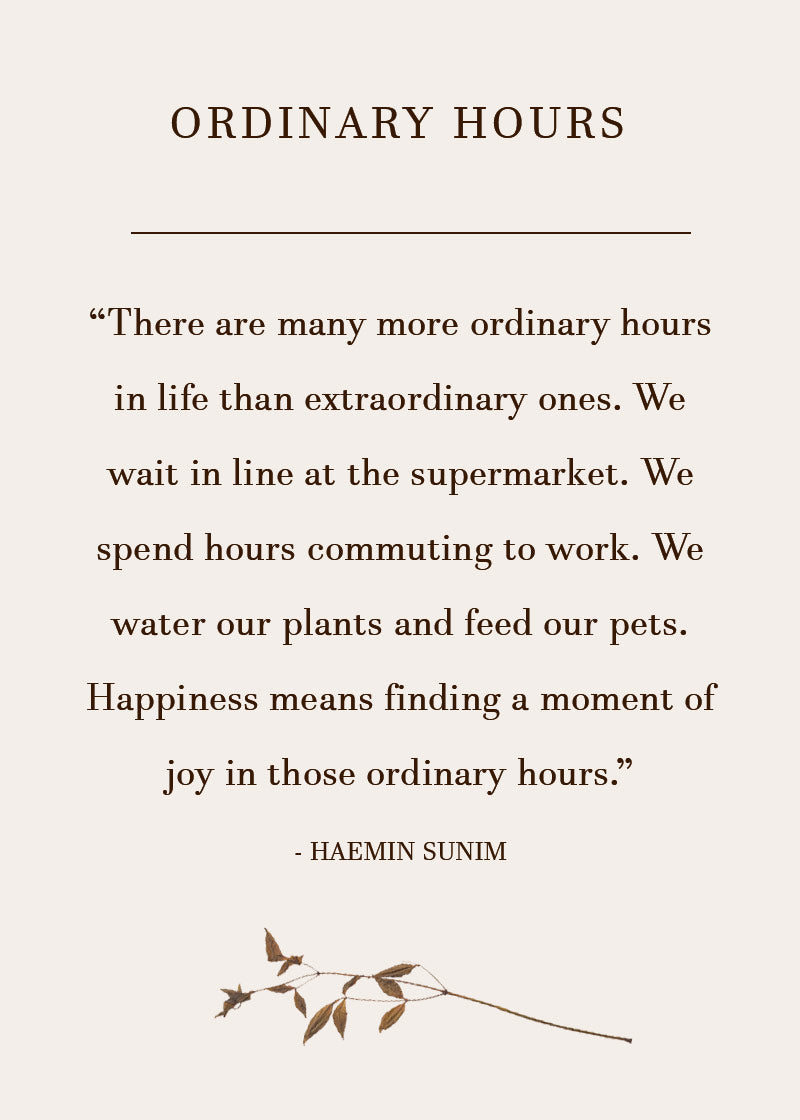 Quote on Ordinary Moments / Mindfulness / Self Care / Mental Health