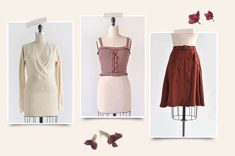 Feminine Vintage Inspired Clothing / Outfit Ideas for Autumn