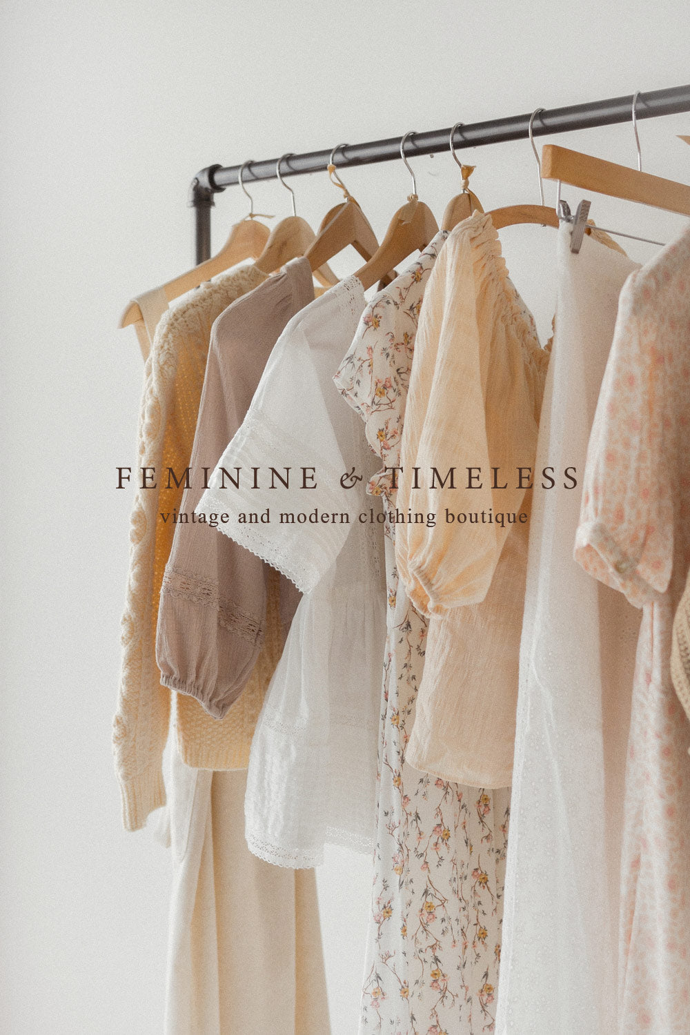 pretty soft vintage feminine color palette