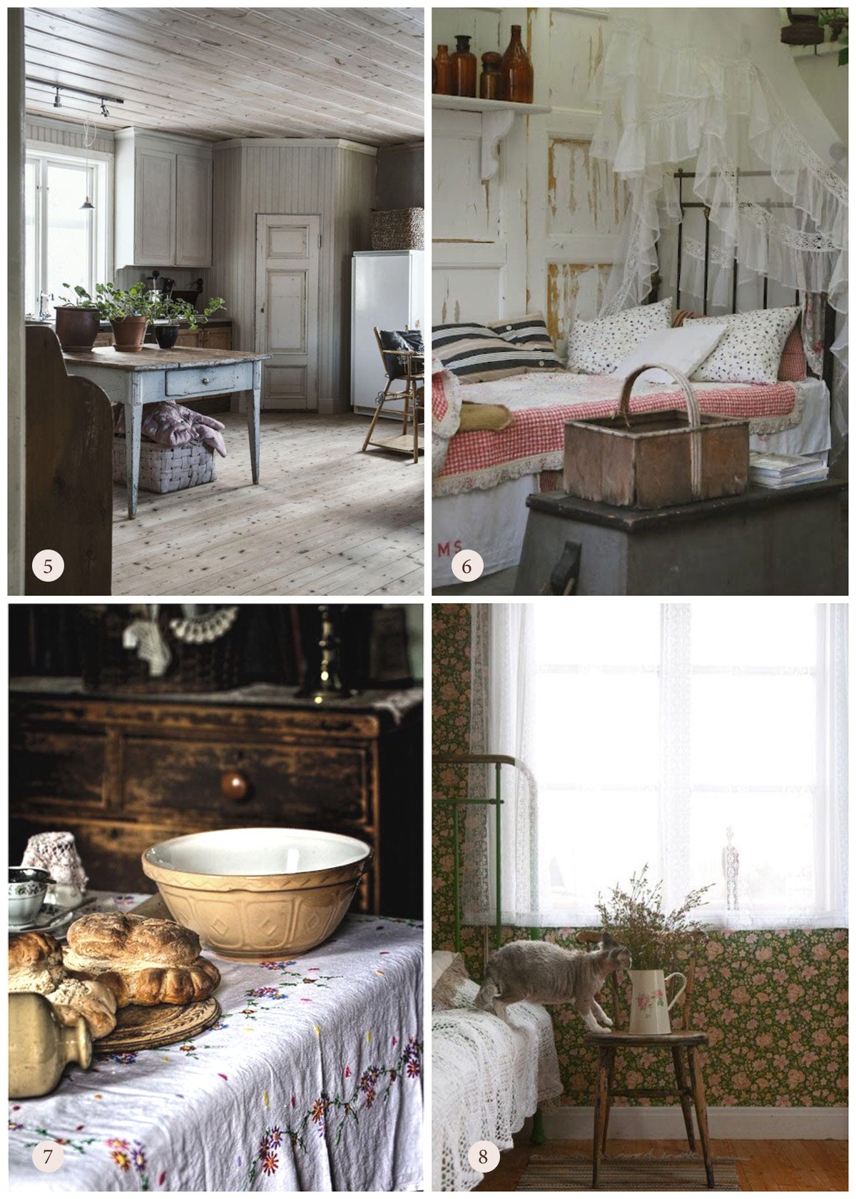 Romantic Country Home Inspiration and Decorating Ideas