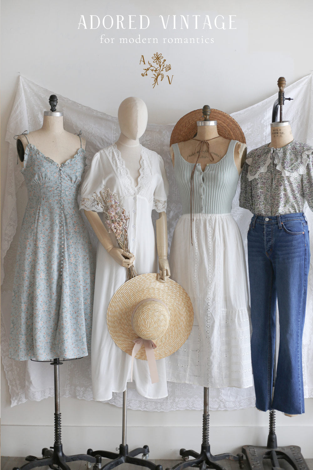 Adored Vintage Timeless and Feminine Clothing Inspired By Vintage