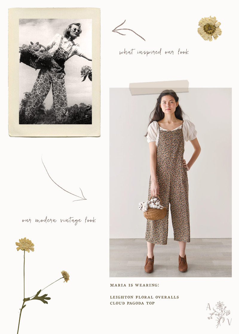 Vintage Inspired Style: Vintage 1940s Overalls
