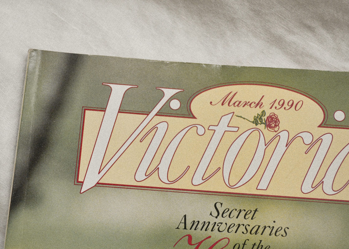 Ode to Vintage Victoria Magazine: Issue March 1990