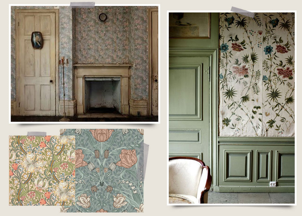 Walled Gardens / Inspiring Wallpaper from the Arts and Crafts Era