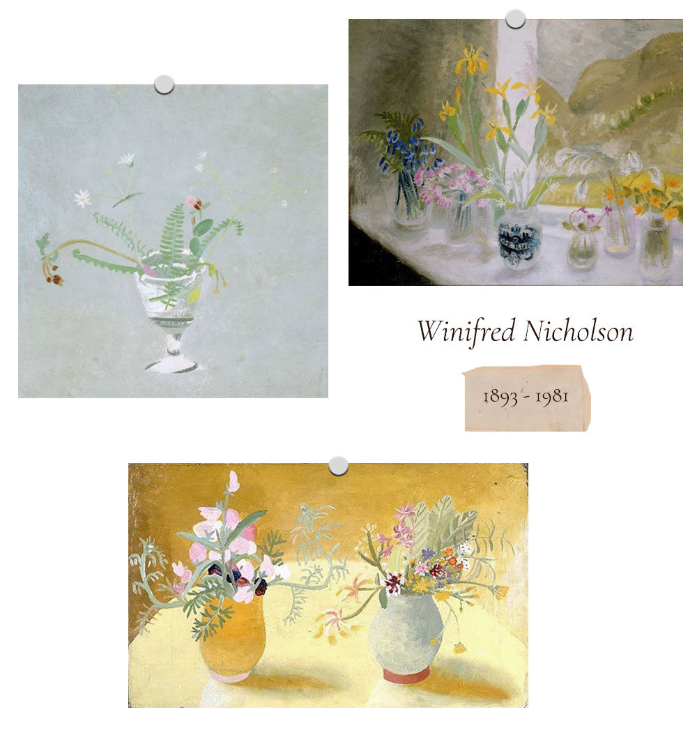 Women In Art: Flowers at the Table / Winifred Nicholson