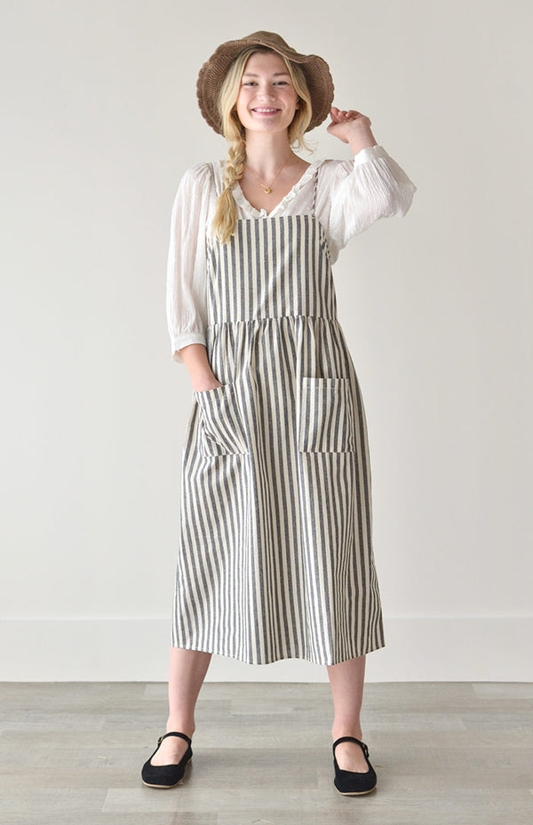 Trelawne Striped Dress